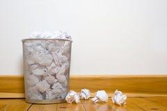 może biuro podłogi śmieci z drewna Obrazy Stock