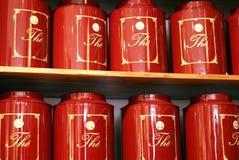 może czerwoną herbaty Zdjęcie Stock