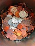 Może monety obraz stock