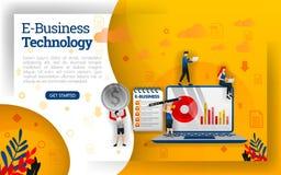 , może używać dla różnorodnych biznesów, potrzebuje rozciągać się od sprzedaży wprowadzać na rynek i używa, reklamy i inny może t ilustracja wektor