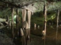 Może Zaznaczać jamę, Portowy De Sant Miguel, Ibiza, Hiszpania obrazy stock