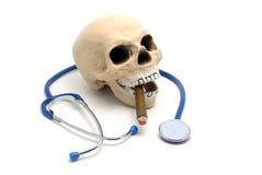 może zniszczyć twoją palić zdrowia Zdjęcia Stock