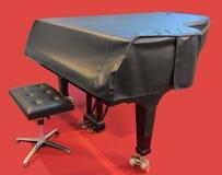 Możliwości mimo to odkrywający pianino nie Fotografia Royalty Free
