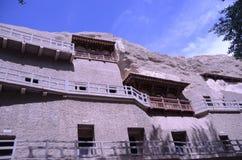 Mo高洞穴敦煌中国 免版税库存照片