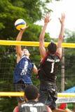 27mo Campeonato asiático suroriental del voleibol de playa. Fotos de archivo libres de regalías