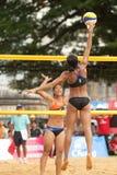 27mo campeonato asiático suroriental del voleibol de playa. Fotografía de archivo
