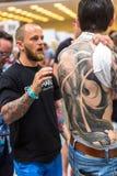 10mo convenio internacional del tatuaje en centro de la Congreso-EXPO de Kraków Fotos de archivo libres de regalías