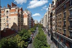 12mo distrito de París Imagenes de archivo