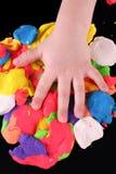 Mão do artista Fotos de Stock Royalty Free