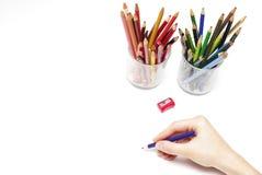 Mão do desenho Fotografia de Stock
