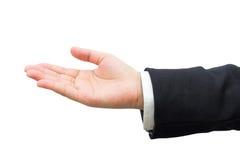Mão do homem de negócio Fotos de Stock