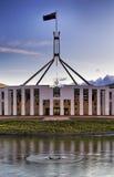 MOŻE parlamentu chorągwiany vertical Zdjęcia Stock