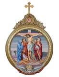 12mo Estación de la cruz Imagenes de archivo