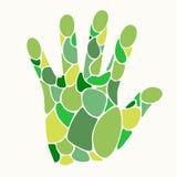 Mão estilizado do vetor Foto de Stock Royalty Free