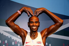 Mo Farah Royalty Free Stock Images