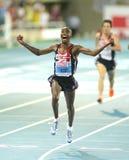 MO Farah von Großbritannien Lizenzfreie Stockfotos