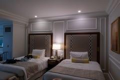 Mo-gente veneziana di viaggio della decorazione della serie di camera da letto di norma di interior design di Macao all'interno Fotografie Stock Libere da Diritti