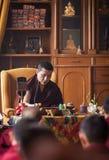 17mo Gyalva Karmapa Trinley Thaye Dorje en KIBI Foto de archivo libre de regalías