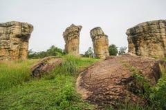 Mo Hin Khao, Chaiyaphum province, Thailand Royalty Free Stock Images