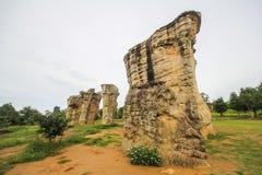 Mo Hin Khao, Chaiyaphum province, Thailand Royalty Free Stock Image
