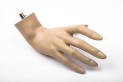 Mão isolada do mannequin Fotos de Stock