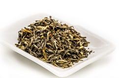 Mo li Mao zielonej herbaty liście Zdjęcia Royalty Free