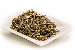 Mo li Mao zielonej herbaty liście Obrazy Royalty Free