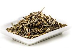 Mo li Mao zielonej herbaty liście Obrazy Stock