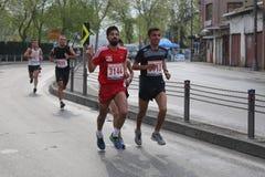 10mo medio maratón de Estambul Foto de archivo