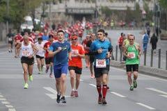 10mo medio maratón de Estambul Imagen de archivo