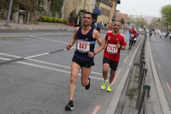 10mo medio maratón de Estambul Fotografía de archivo libre de regalías