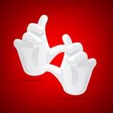 Mão mágica Fotografia de Stock