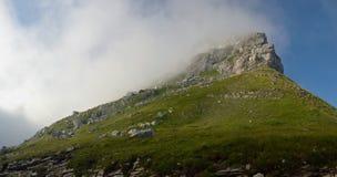 Możny szczyt Fotografia Royalty Free