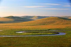 Mo rzeka Spengler Fotografia Stock