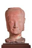 17mo - siglo XVIII A d cabeza de un Buda, estilo de Ayutthaya, Tailandia Foto de archivo