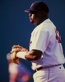 Mo Vaughn, Boston Rode Sox Royalty-vrije Stock Foto's