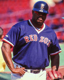 Mo Vaughn, Boston Rode Sox Stock Foto