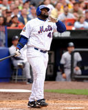 Mo Vaughn, New York Mets. Stock Image