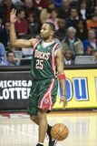 Mo Williams of the Milwaukee Bucks Stock Images