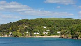 Moa a praia Salcombe Devon Reino Unido um da baía de diversas praias bonitas Fotografia de Stock Royalty Free