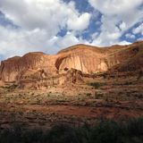 Moab, Γιούτα φαράγγια Στοκ φωτογραφία με δικαίωμα ελεύθερης χρήσης