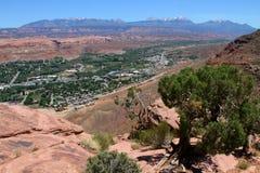Moab, Γιούτα Στοκ Φωτογραφίες