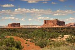 moab Юта Стоковые Изображения RF