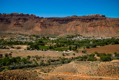 Moab City. Moab , a small town in Utah , USA Stock Image