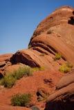 moab czerwieni skała Zdjęcia Royalty Free