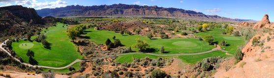 Free Moab Desert Golf Course Panorama Royalty Free Stock Photo - 17615675