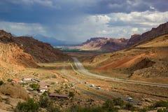 Moab entrant Image libre de droits