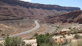 Moab Fault Line Royalty Free Stock Photography