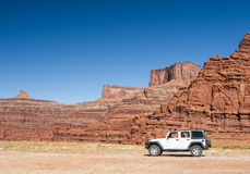 Moab is Jeep country Royalty Free Stock Images