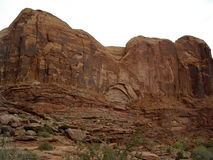 Moab Slick Rock Royalty Free Stock Photos